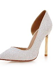 Women's Shoes / Fall Heels Heels Outdoor / Office & Career / Casual Stiletto Heel Sequin / Sparkling Glitter&9-29