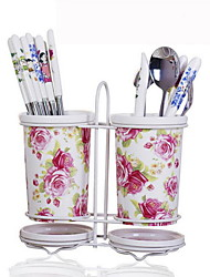Ceramic Dish Rack Chopsticks Rack Kitchen Organization