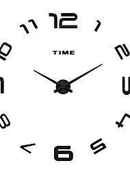 MQ - 003Large Size Creative Diy Wall Clock Art Background Wall Clock Modern Personality Quiet bell