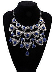 Fashion Water Drop Necklace Exaggerated