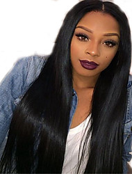 New Brazilian Front Lace Human Hair Wigs Natural Straight Wigs For Black Women Wholesale Price