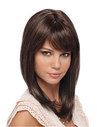 Natural  Clip In on Bangs Synthetic Hair Fringe for Women