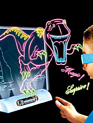 2016 3D Magic dinosaur Draing Board toys