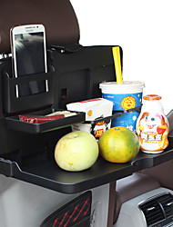 Auto Scaling Back of the Chair Plate Placed Folding Shelf Beverage Food Tables