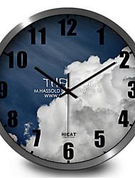 Personality Creative Dark Clouds Sky Living Room Wall Clock