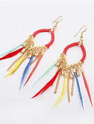 Fashion Circle Earrings