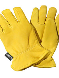 Yellow, L Code Motorcycle Gloves Motorcycle Riding Gloves Deerskin Soft And Comfortable To Wear