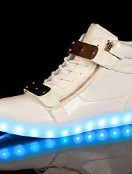 Homme-Extérieure / Décontracté-Noir / BlancConfort-Sneakers-Synthétique