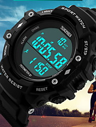 SKMEI® Men's Tough Fashion Pedometer 3D Digital Waterproof Sport Watch Fashion Watch Cool Watch