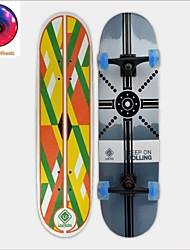 LED Light Wheels Skateboard (31 Inch) 78.7*20CM ABEC-5 11mm9-ply Maple Deck High Speed bearings Wheels58*32mm