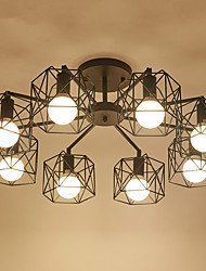 8Chandelier ,  Modern/Contemporary Electroplated Feature for Designers Metal Living Room / Study Room/Office