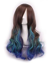 parrucche Sintéticas ombre parrucca parrucche pelo parrucche sintetiche naturali termoresistente parrucche cosplay Perruque Peruca ricci