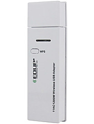 Edup ep-ac1601 1200mbps ac mini-USB WiFi adaptador de rede placa de adaptador receptor placa wireless