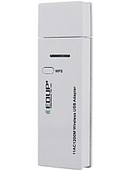 EDUP ep-ac1601 ac 1200mbps wifi usb mini-réseau adaptateur carte adaptateur récepteur carte sans fil