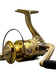 Molinetes Rotativos 5.2/1 10 Rolamentos Trocável Isco de Arremesso / Pesca Geral-CF1000 SDS