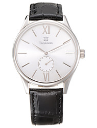 Bestdon® Fashion Vintage Leather Water Resistant Simple Design Men's Fashion Wristwatch