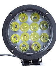 60W Light Off-Road Vehicle Lamp Round LED Light Off-Road Vehicle Car Lights