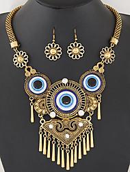 Halskette / Ohrringe Quaste Modisch Silber Golden Halsketten Ohrringe Für Party Alltag 1 Set Hochzeitsgeschenke