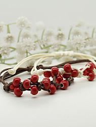 Round 18.5cm Fashionable Agate Strand Bracelets