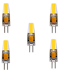 4W G4 LED à Double Broches MR11 4 COB 460 lm Blanc Chaud Blanc Froid Décorative Etanches DC 12 AC 12 AC 24 DC 24 V 5 pièces