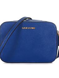 DAVIDJONES/Women-Formal / Casual / Event/Party / Office & Career / Shopping-PU-Shoulder Bag-Multi-color