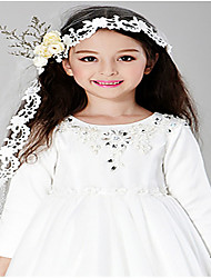 Girls Hair Accessories,All Seasons Chiffon White