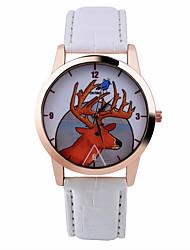 Mode Uhr der Frauen Elch Uhren pastoralen Stil Uhren Uhren Quarzarmbanduhr