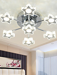 LED Crystal Lamp Living Room Lamp Star Bedroom Lamp LED Ceiling Lamp