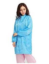 Suzhou Anti-Static Grid Stripe Coat Buttons Blue White Dust Protective Clothing Anti-Static Clothing