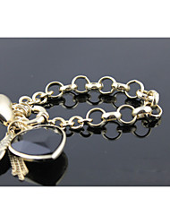 Chain Bracelets 1pc,Golden Bracelet Fashionable Circle  Gold Jewellery