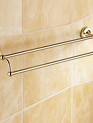 Towel Bar / Polished Brass / Wall Mounted /60*15*10 /Brass /Antique /60 15 0.784