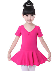 Shall We Ballet Dresses Children's Training Cotton Ruched Dress