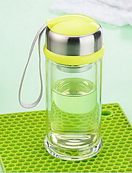 Cute Cartoon Pyrex Glass with Lid for Children 220ml