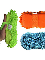 Car Cleaning Supplies Car Washing Tools Chenille Gloves Wipe Single Nano Paws