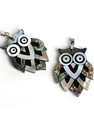 Pendentifs Coquillage Animal Shape comme image / Nactural 1Pc