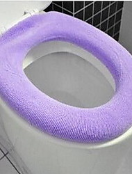 O-pumping Warm Toilet Mat (Random Colors)