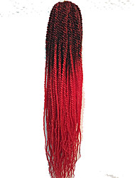 Ombre Senegalese Twist Hair Havana Mambo Twist Crochet Braid hair Senegalese Twist Freetress Braid Hair Extensions