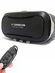 Shinecon Virtual Reality 3D Glasses 2.0 + Bluetooth Remote Control for 4.5-6.0 inch Phone