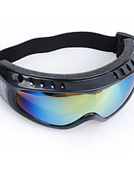 esponja gafas de esquí espejo viento impacto anti-vaho gafas de viento claro que monta anti-polvo anti-salpicaduras