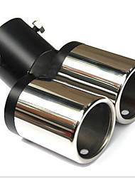 Automobile Tail Pipes Twin Tailpipes 6363 Car Muffler Tail Pipe Exhaust Pipe Modification Cruz 12-3A \ 929
