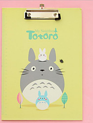 Cute Totoro Binder Cartoon Little Fresh Folder WordPad Writing Pad
