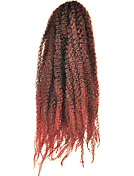 X-TRESS Collection Crochet Afro Kinky Braids 100% Kanekalon Toyokalon Fibers Jumbo Marley 18 inch 6-8 pcs full head
