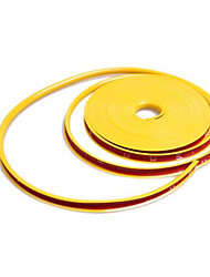 Automotive Supplies Cool Car Wheels Protection Ring / Anti-Rub Metal Strip