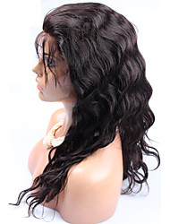 250% High Density Malaysian Virgin Body Wave Full Lace Human Hair Wigs For Black Women Lace Front Wigs 12-24inch