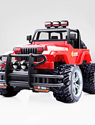 Buggy (Off-road) Dodo Elephant Hummer 1:16 Brushless Electric RC Car Red / Yellow Ready-to-go
