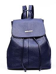 Women Sports Casual Outdoor Shopping Backpack PU