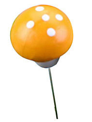 les ornements simulation miniature de champignons (couleur aléatoire)
