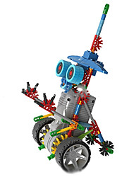 LOZ small eye robot building blocks toys elves animal science electric