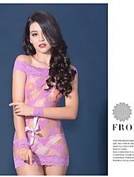 LIERMEI® Náilon Camisas e Vestidos-0017#