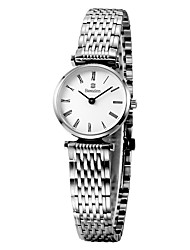 Bestdon® Fashion Stainless Steel Lady Water Resistant Simple Design Japanese Quartz Fashion Wristwatch